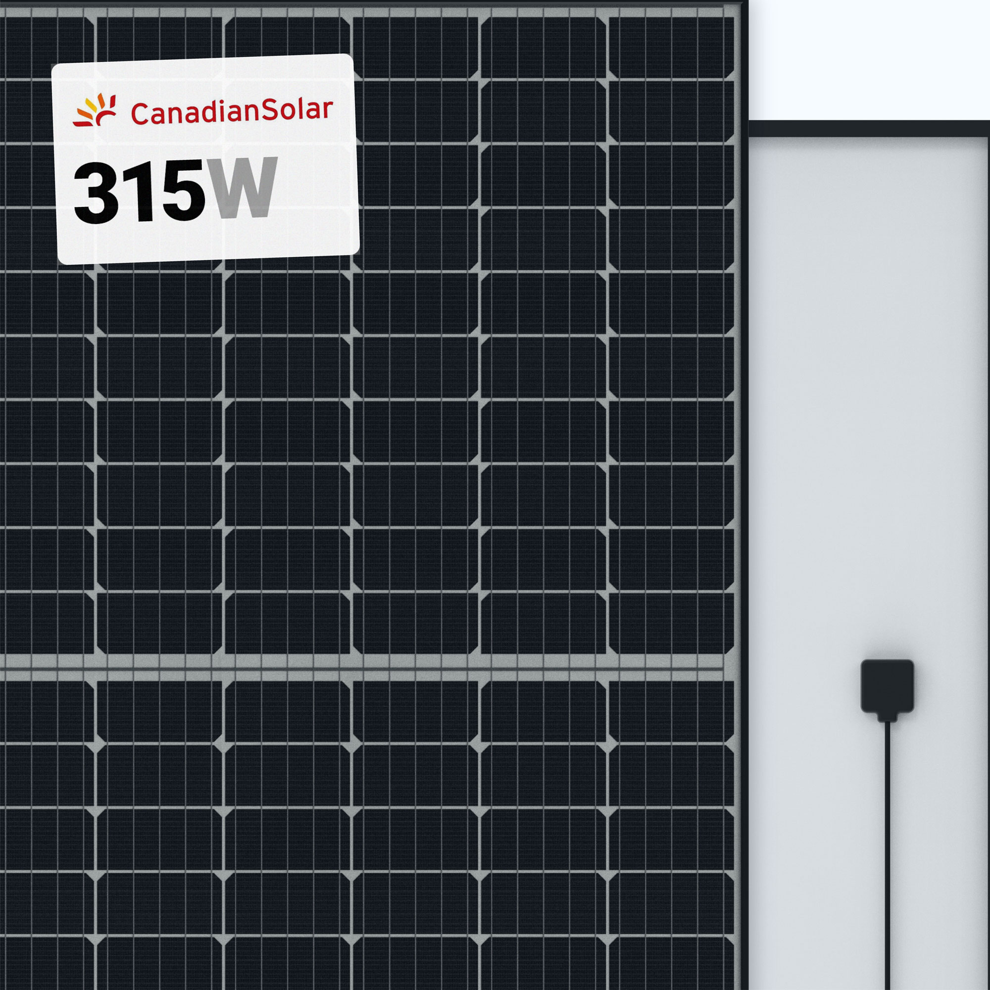 Canadian Solar 315w Solar Panel 120 Cell Cs3k 320ms Monocrystalline Black A1 Solar Store