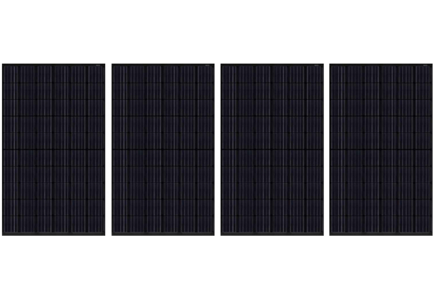 4 x JAPAN SOLAR 300W Solar Panel Free Delivery